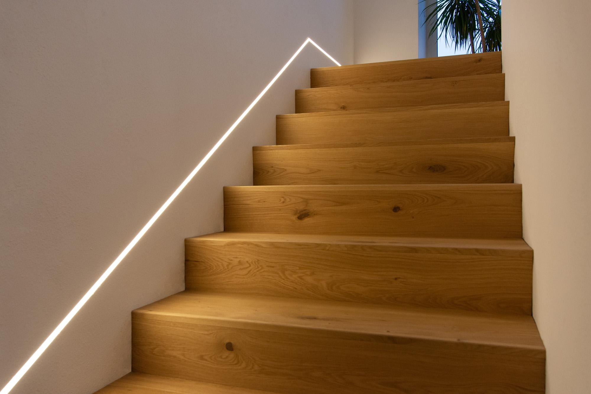 Stiege Beleuchtung - LED Stripe